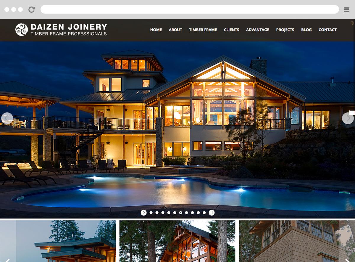 Daizen Joinery Website
