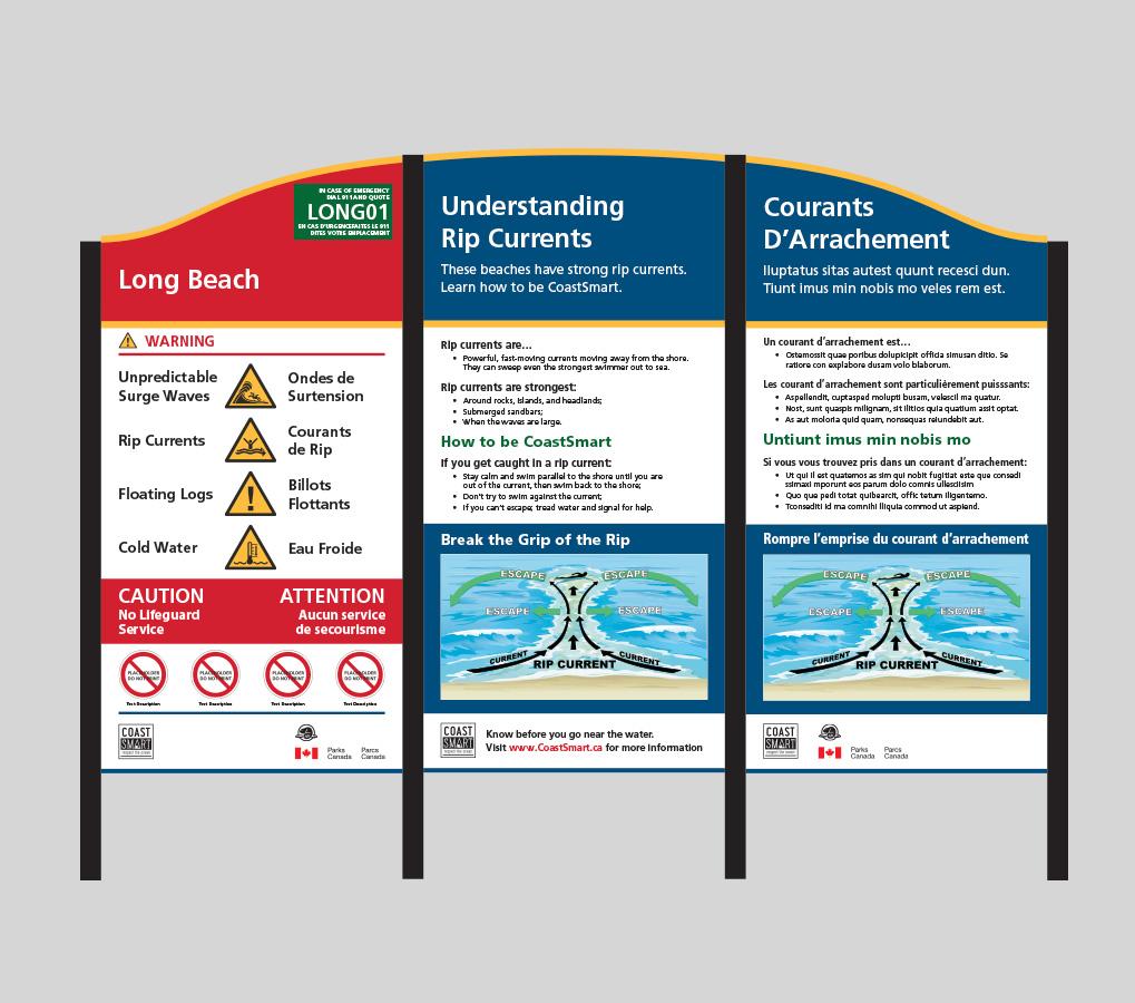 Coastsmart signage