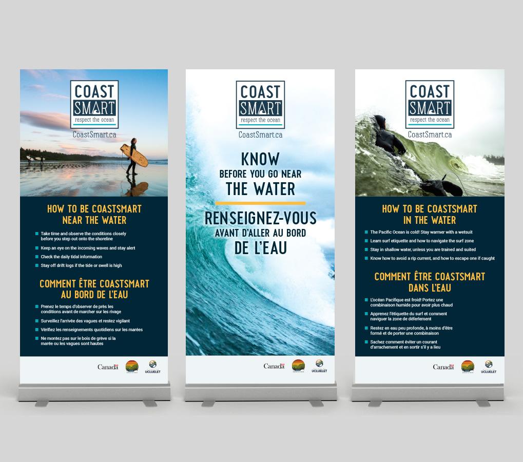 Coastsmart banners